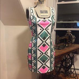 2B Bebe sequin mini dress